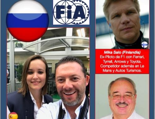 """""""Los Sinodales FIA en GP de Rusia, una verdadera Tercia de Ases"""""""
