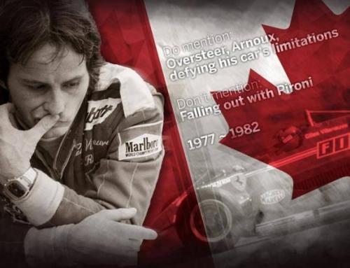 8 de mayo 1982, Villeneuve nunca se ha ido.
