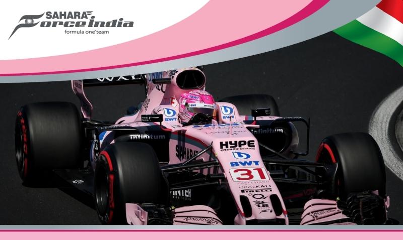 Force India no logra entrar en la Q3 en Hungría.