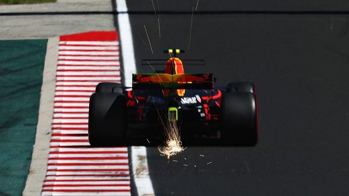 Red Bull al acecho del podio en el hungaroring
