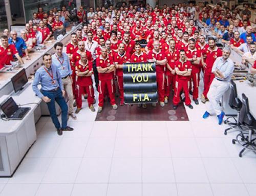 Ferrari y el besamanos