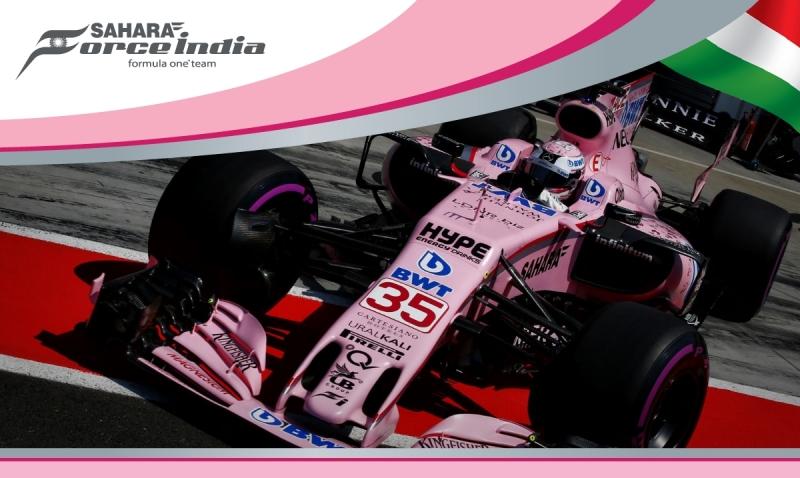 Force India prueba a Nikita Mazepin y a Lucas Auer en los ensayos de Hungria.