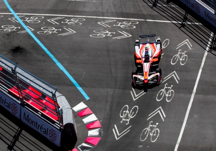 Graining siguiendo también la actividad de la FIA Formula E
