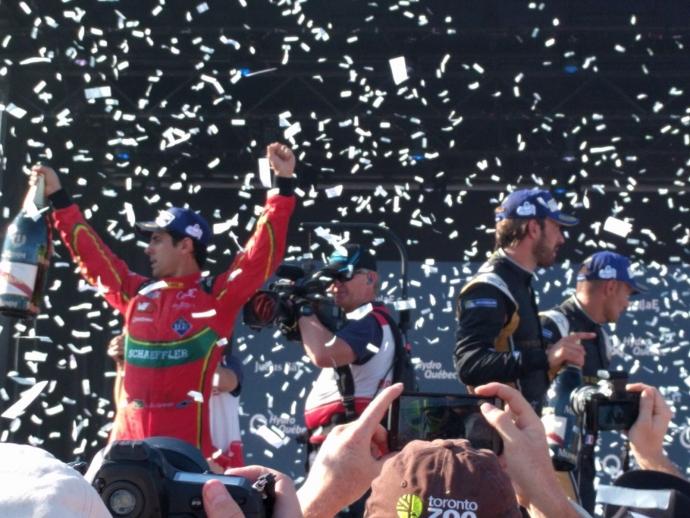 Lucas Di Grassi ganador del Campeonato Mundial de la FIA Formula E