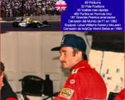 Nigel Mansell Campeón Mundial de F1 en 1992