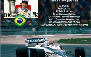 Un dia como hoy en 1952 nació Nelson Piquet.