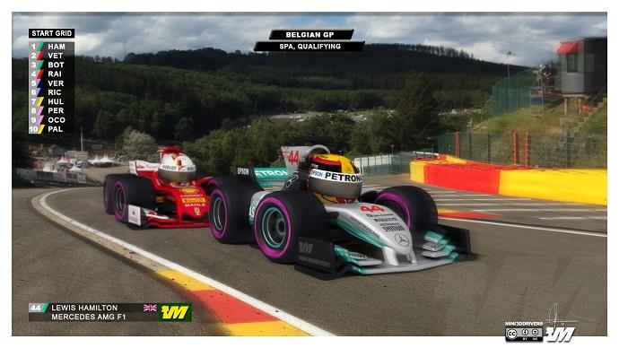Lewis Hamilton se lleva la pole en el #BelgianGP