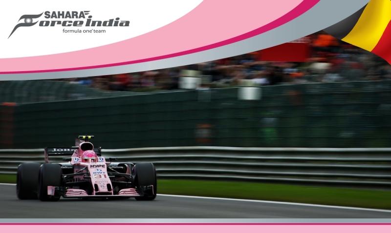 Force India sin alcanzar el 100% de rendimiento tiene el potencial para alcanzar Podio en Spa.