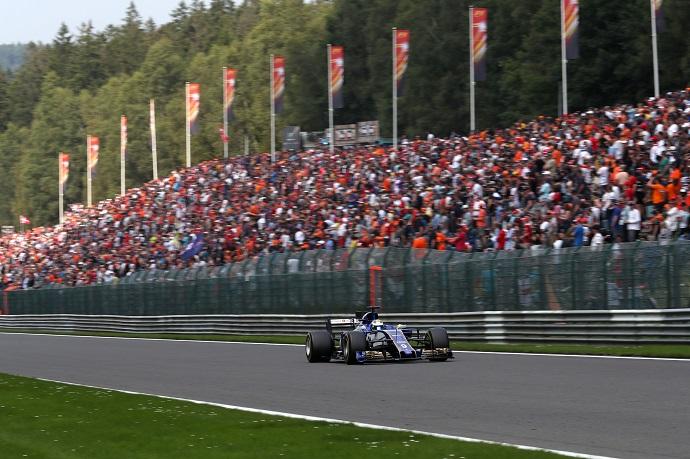 La falta de potencia lastar la carrera de Sauber en Spa Francorchamps