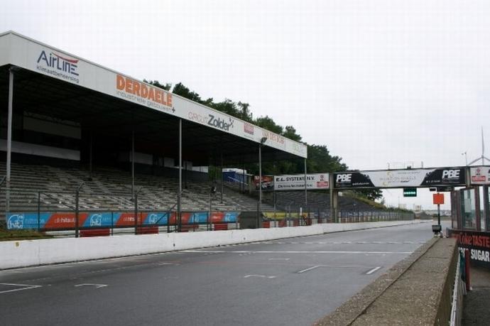 Circuito de Zolder, Bélgica.