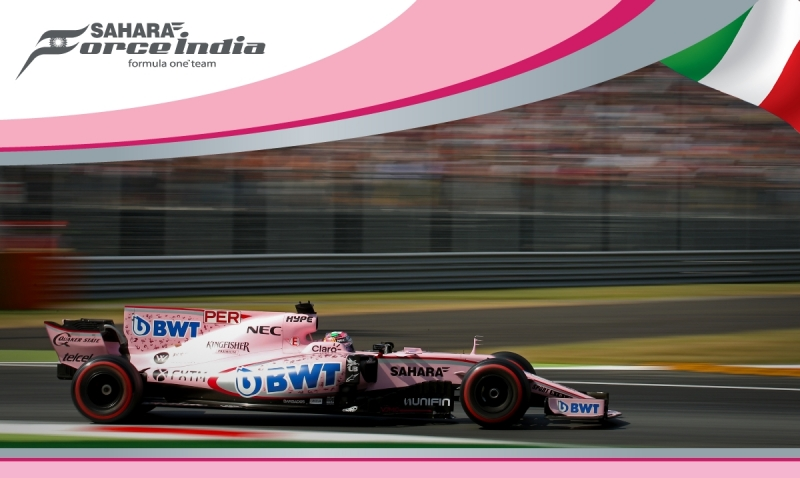 Force India logra ensayos positivos en Monza.