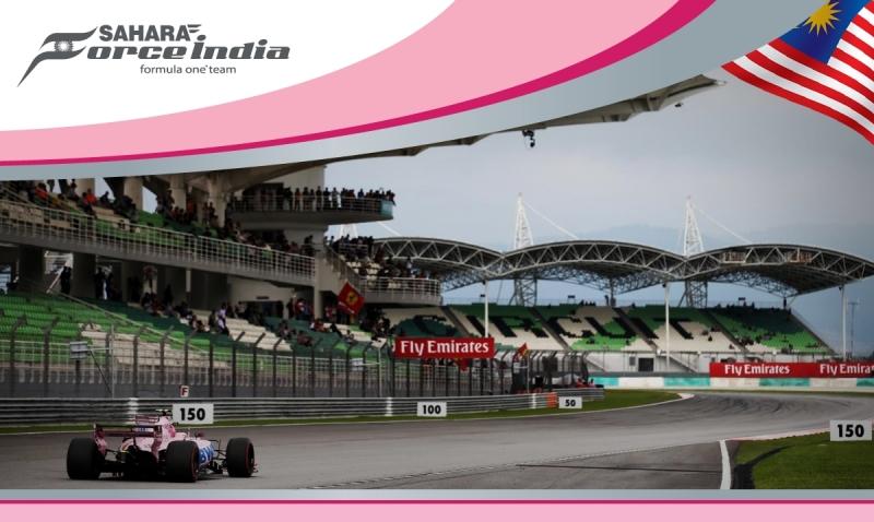 Force India dentro del Top Ten en GP de Malasia. por @omarketingf1