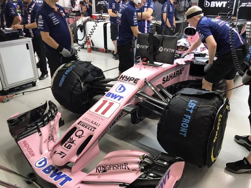 Force India se queda fuera de la Q3 en Singapur.