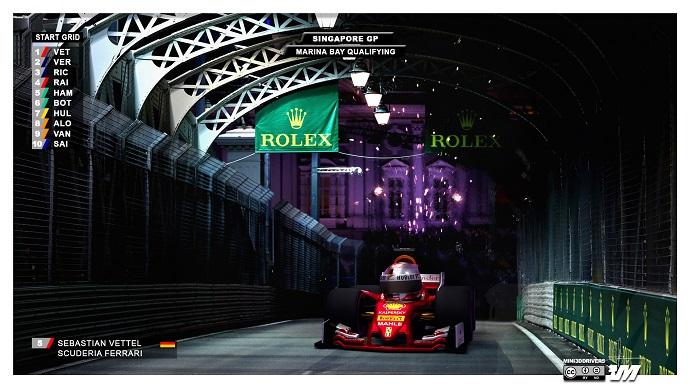 """La """"Pole Position"""" de Singapur se la lleva Sebastian Vettel"""