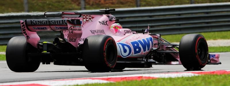 Sergio Checo Perez saldra en P9 en largada del ultimo GP de Malasia. @omarketingf1