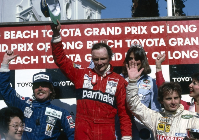 Niki Lauda, Long Beach California.