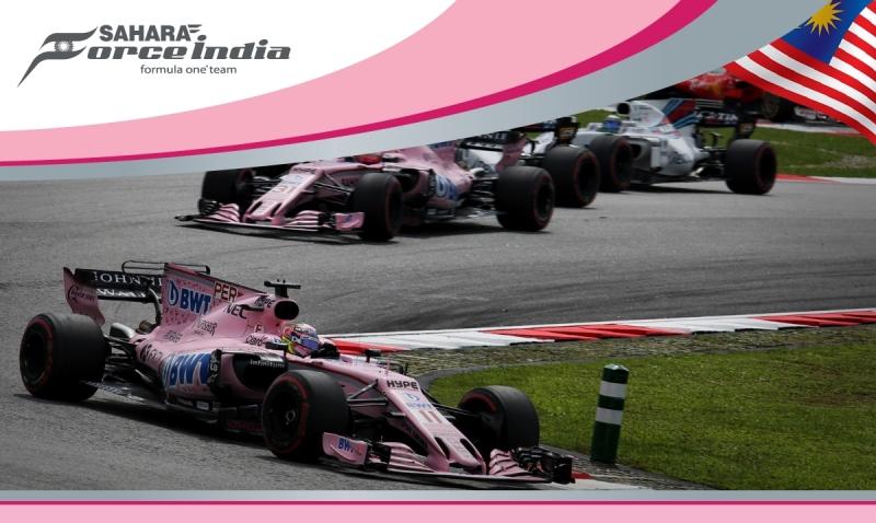 Force India dice adios a Malasia rescatando 9 puntos en el cierre de Sepang.