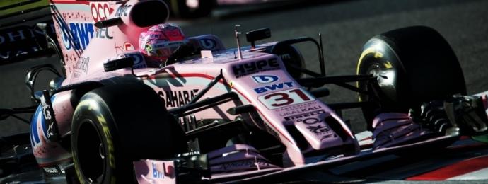Esteban Ocon logro una extraordinaria carrera y suma puntos valiosos en Suzuka.