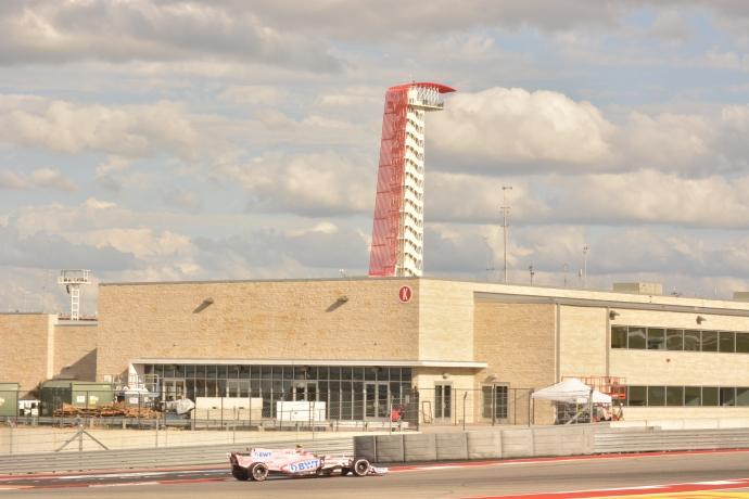 Esteban Ocon saldra en la posición 6 en Austin Texas. @omarketingf1