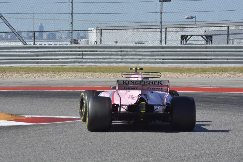 Force India sale con 12 puntos más del Circuito de las Américas en Austin Texas. @omarketingf1