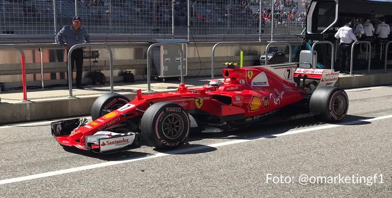 Ferrari en el Gran Premio de México. @omarketingf1
