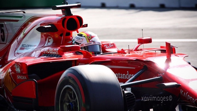 Ferrari se lleva la Pole Position en el G.P. de México