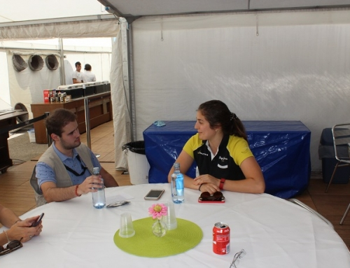 Entrevistamos en Jerez a Tatiana Calderon piloto de GP3