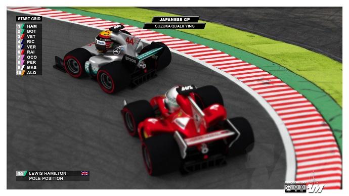 Lewis Hamilton se lleva la pole y el récord del circuito en Suzuka