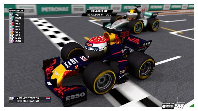 Mad Max Verstappen se lleva el G.P. de Malasia