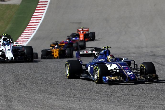 Marcus Ericsson el único superviviente de Sauber en Austin