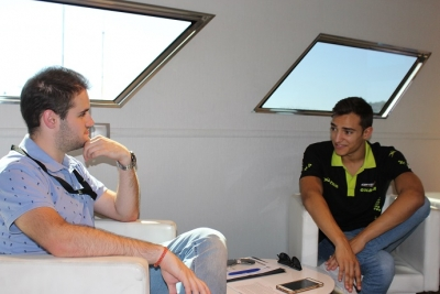 Graining entrevista al piloto de F2 Alex palou