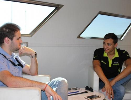 Entrevista en Jerez a Alex Palou, piloto de Formula 2