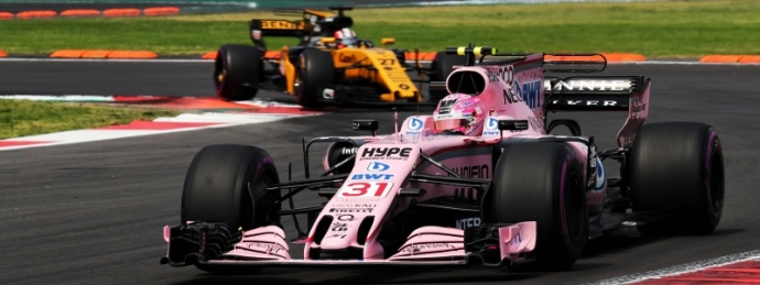 La Fiesta Mexicana asegura el 4º lugar del Campeonato a Force India.