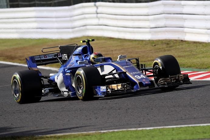 Sauber en Japón se vá con el 15º para Werhlein y con Ericsson fuera