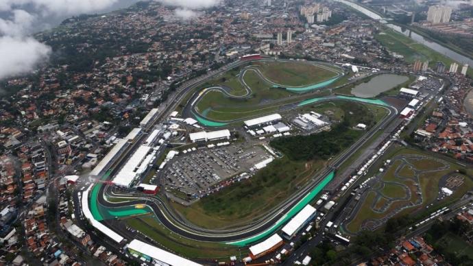 Circuito de Interlagos, Sao Paulo Brasil.