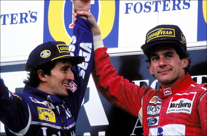 Back to the Past GP Australia 1993, el día D entre Senna y Prost