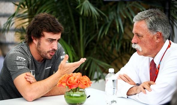 """Chase Carey desea ver a Alonso """"luchando por podios"""""""