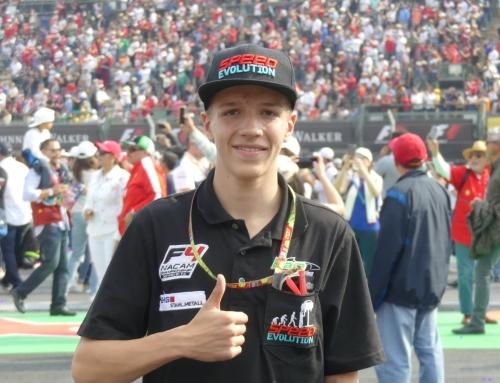 "MICHAEL SANTOS ""La meta es la Formula 1"""