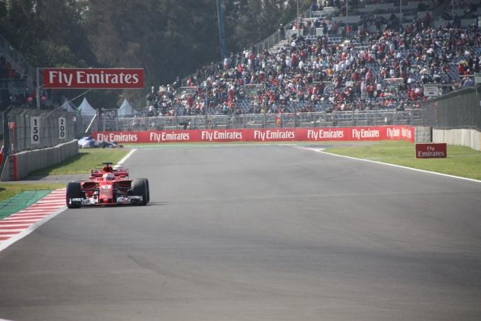 Sebastian Vettel el más rápido del GP de México 2017. Por Omar Alvarez @omarketingf1