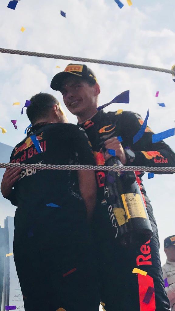 Max Verstappen Ganador del GP de México 2017. Foto Omar Alvarez @omarketingf1