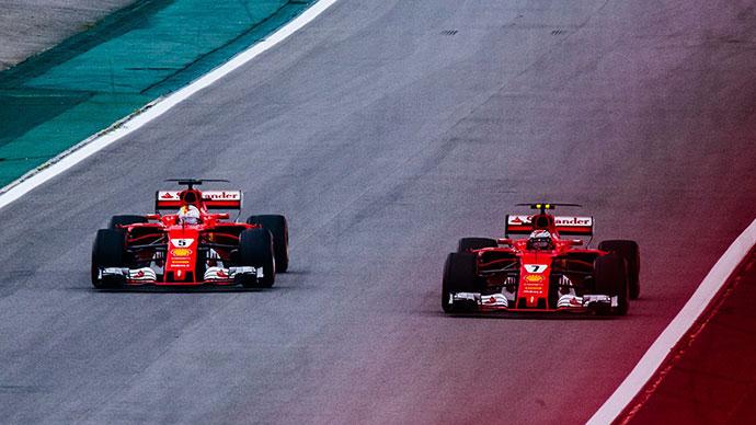 Ferrari Vettel Raikkonen