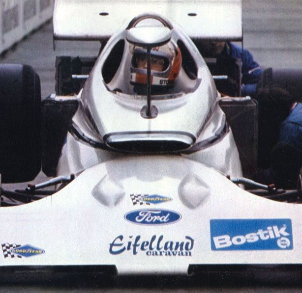 Eifelland F1 1971 Rolf Stomellen. Foto: Pinterest. Selección: @omarketingf1