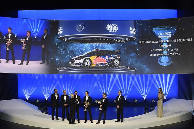 Sébastien Ogier Campeón Mundial de Rallys 2017. @omarketingf1 Foto: FIA