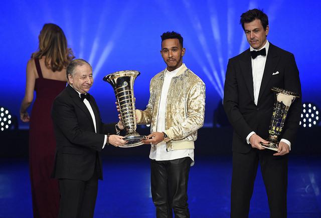Lewis Hamilton Campeon del Mundo F1 2017. @omarketingf1 Foto: FIA