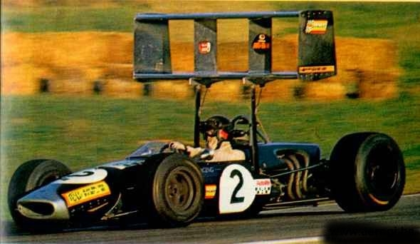 Brabham BT23 1968 Jochen Rindt . Foto: Pinterest. Selección: @omarketingf1