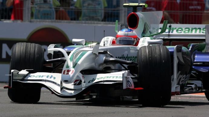 Honda RA 108 2008. Foto: Sutton. Selección: @omarketingf1