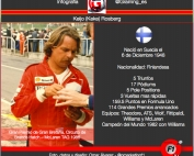 Infografia Keke Rosberg @omarketingf1