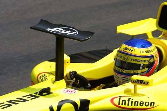 Jordan-Honda 2001 Foto: MotorSportM8. Selección: @omarketingf1