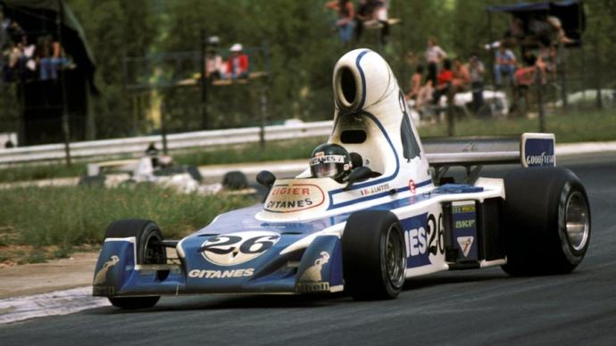Ligier JS5 1976 . Foto: Sutton. Selección: @omarketingf1