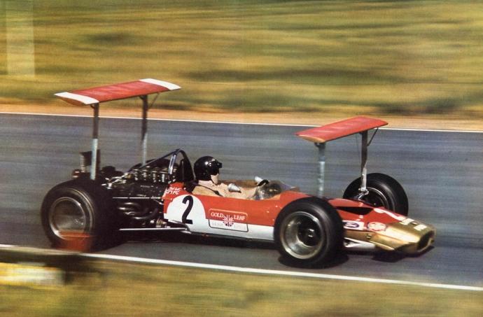 Lotus 1969 Johen Rindt Foto: Devian Art. Selección: @omarketingf1